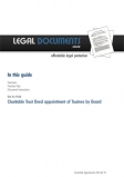 Charitable Trust Deed User Guide Cover