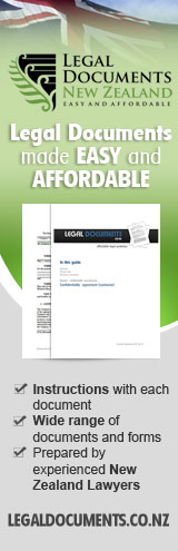 New Zealand Legal Documents